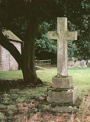 Nat Gould's Grave at Bradbourne
